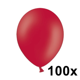 Pastel Rood 100 Stuks