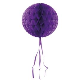 Honeycomb Bol Paars - 30 cm