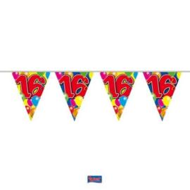 Vlaggenlijn Balloons 16 jaar