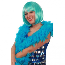 Boa brandveilig dik Turquoise 180 cm 75 gram