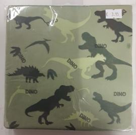 Servetten Dinosaur Party 33cm 20 stuks