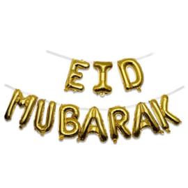 Folieballonnen set 'Eid Mubarak'