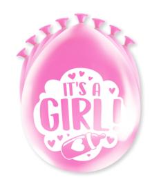 Party Ballonnen - Geboorte meisje