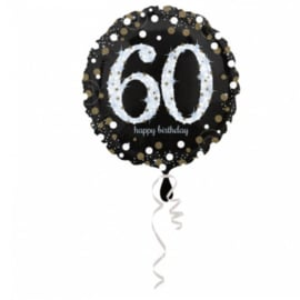 Folieballon 60 Glitterfeest - 45 cm