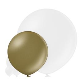 Metallic Amandel 60 cm