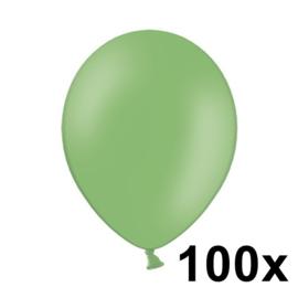Pastel Helder Groen 100 Stuks