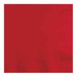 Servetten classic red