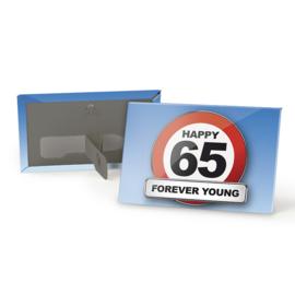 Magneet 65 Jaar Verkeersbord