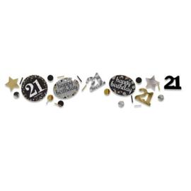 Confetti sparkling gold '21' (34gr)