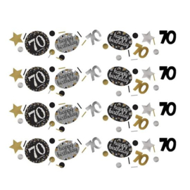 Confetti sparkling gold '70' (34gr)