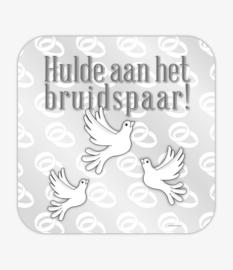 Huldeschild - Bruidspaar