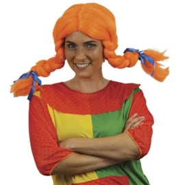 Pippi pruik oranje