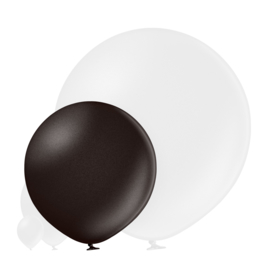 Metallic Zwart 60 cm