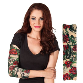 Tattoo sleeve rozen