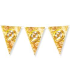 Party Flags foil - 50 jaar getrouwd