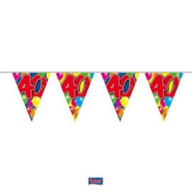 Vlaggenlijn Balloons 40 jaar