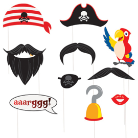 Photo booth Pirate Props, 10pc
