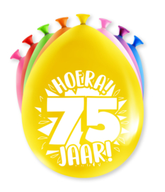 Party Ballonnen - 75 jaar