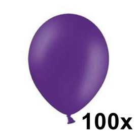 Pastel Royal Lila 100 Stuks