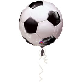 Folieballon Voetbal - 43 cm