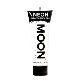 Neon UV face & body paint white