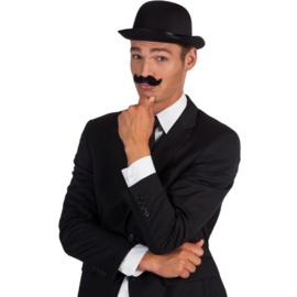 Snor Gentleman zwart