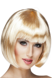 Pruik Bobline Blond