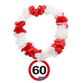 60 jaar Verkeersbord Hawaii Krans