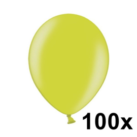 Metallic Appel Groen 100 Stuks