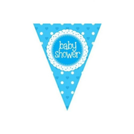 Vlaggenlijn Babyshower Jongen