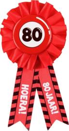 Party Rozetten - 80 jaar