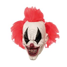 Masker duivelse clown met punk haar