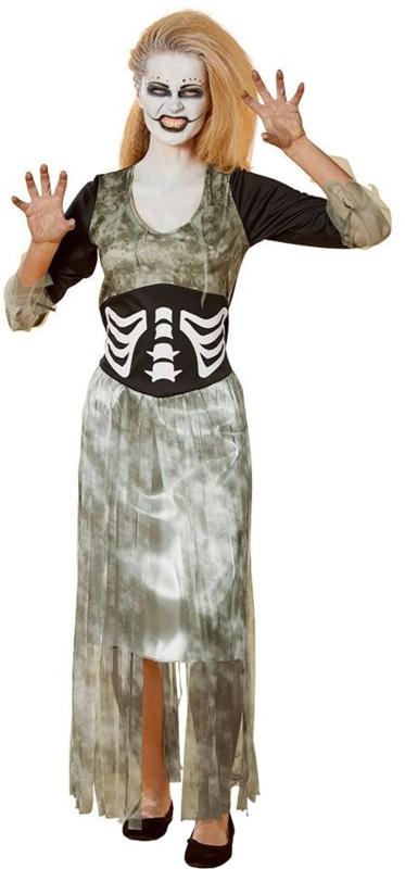 Zombie Bruid Kostuum Halloween Dames