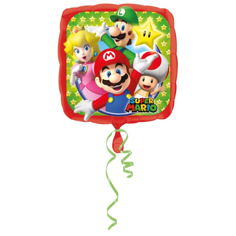 Folieballon Super Mario Bros - 43 cm