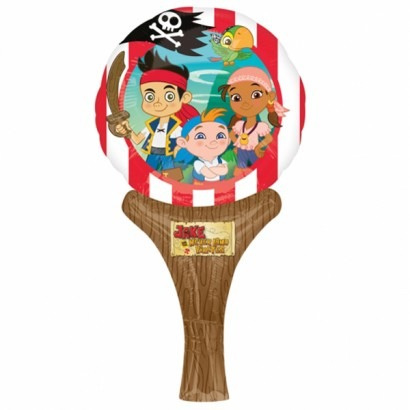 Ballon folie Jake & the Neverlands Pirates Inflate a fun