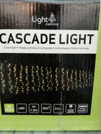 Cascadeligh warm white Indoor & outdoor