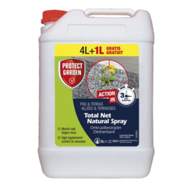 TOTAL NET NATURAL SPRAY 4L + 1L GRATIS