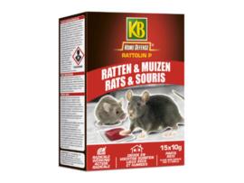 KB Rattolin Pasta Tegen Ratten En Muizen