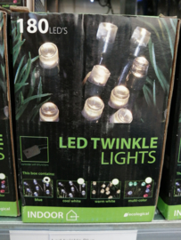 Led twinkle lights blue indoor