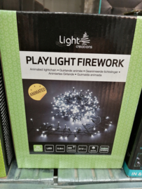 Playlight firework cool white indoor & outdoor