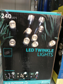 Led twinkle lights cool white indoor & outdoor