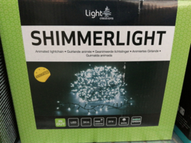 Shimmerlights animated cool white indoor & outdoor