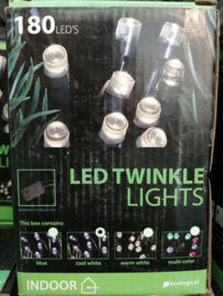 Led twinkle lights cool white indoor