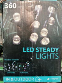 Led steady cool white indoor & outdoor
