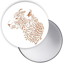 Spiegel Leopard Cognac
