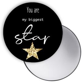 Spiegeltje You ... Star zwart