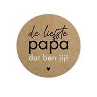 De liefste papa dat ben jij ( vanaf 5 stuks )