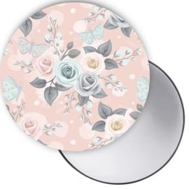 Spiegel roos roze