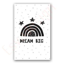 A4 poster Dream big