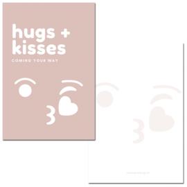 Mini kaartje Bigsmile roze